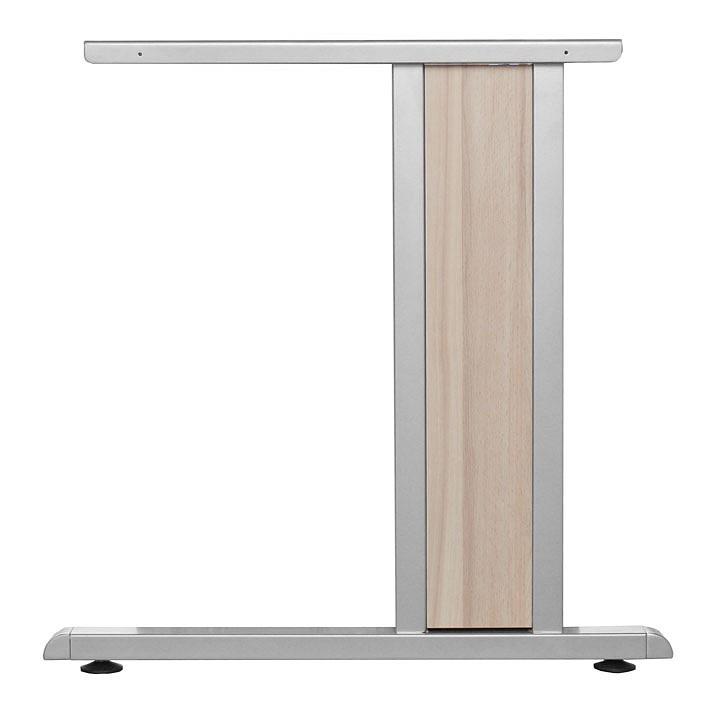 C-Fußblende Medford (2-teilig) - passend für Medford Schreibtisch - Holz, Metall - Kernbuche, röhr