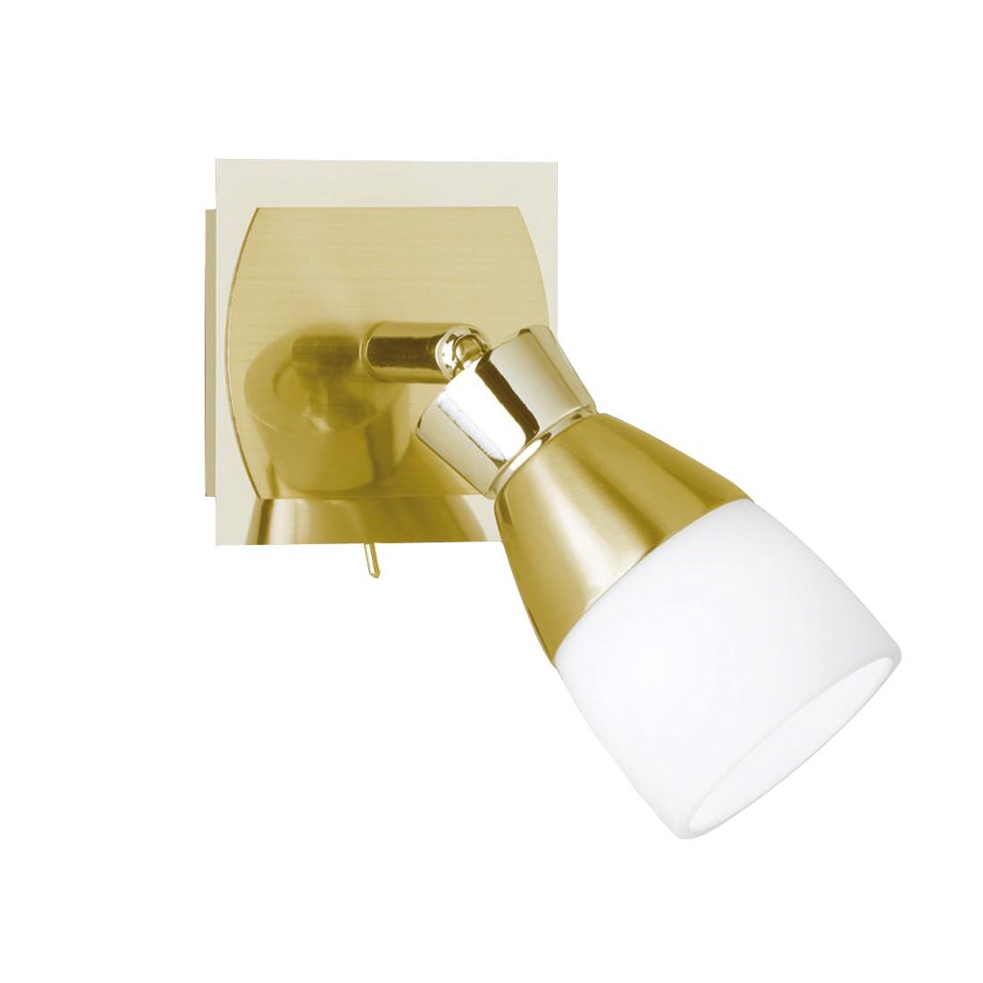 EEK A+, LED-Wandstrahler - Metall - Gold, Paul Neuhaus