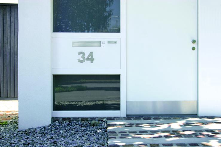 Briefeinwurf Amiens – L = 335 mm, Serafini günstig online kaufen