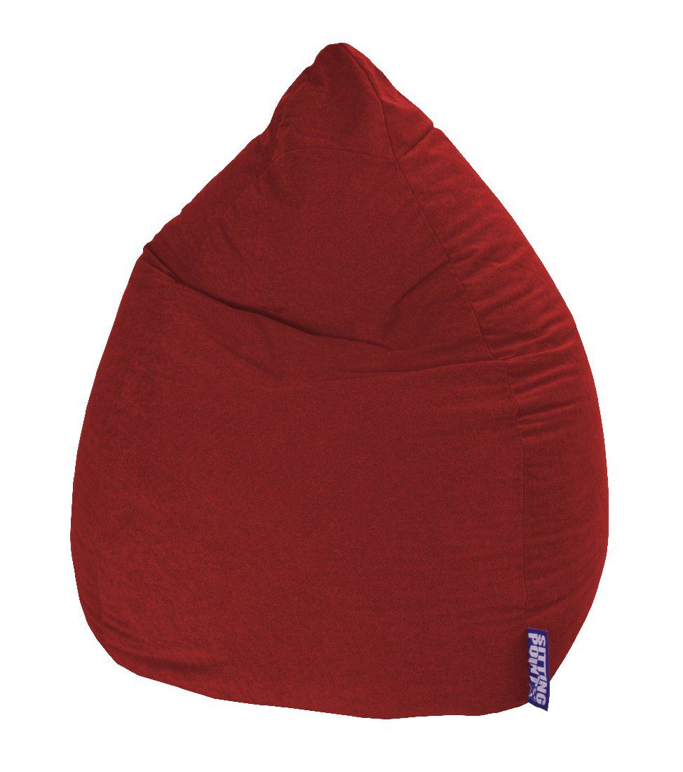 Sitzsack Easy XL – Microfaser Rot, Fredriks online kaufen