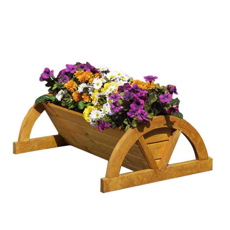 Pflanzkasten Sotteville – Kiefer/Massiv, Promex günstig