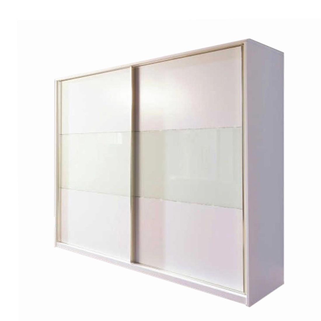 Kommode Starlight – mit Swarovski Elementen und Schwebetüren – Klein, Glaseinsatz oben, Nolte Delbrück online bestellen
