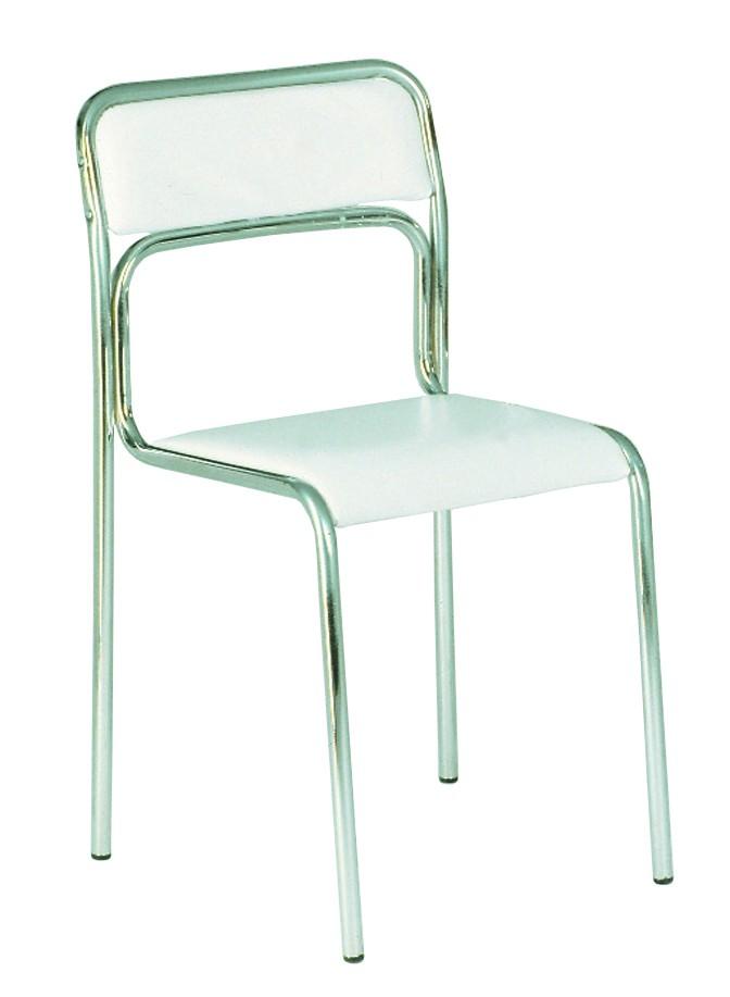 Stuhl Comet (2er-Set) – Weiß, Magazin-Möbel jetzt kaufen
