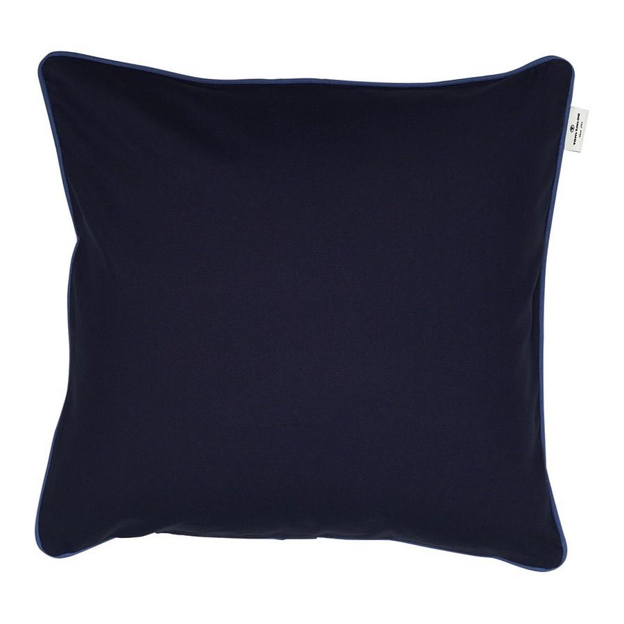 Kederkissenhülle T-Dove – Blau/Keder Hellblau – 50 x 50 cm, Tom Tailor günstig kaufen