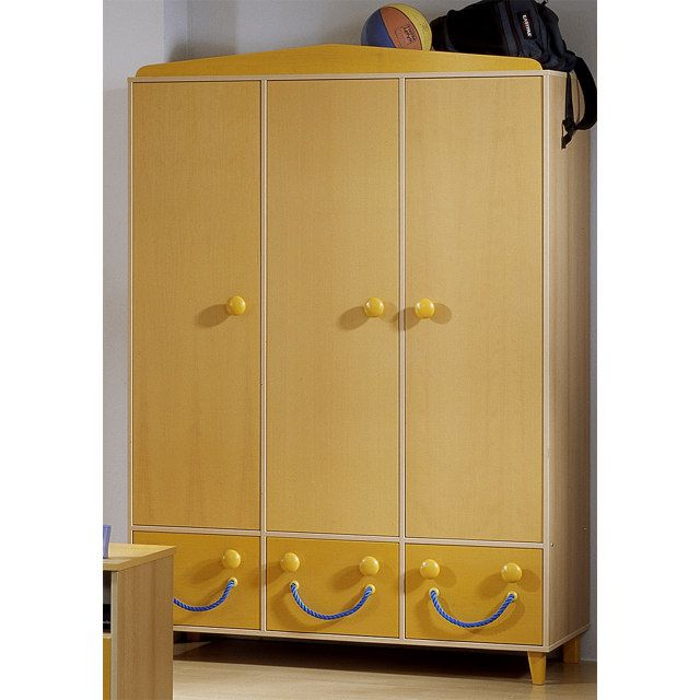 kleiderschrank kobold 3 t rig. Black Bedroom Furniture Sets. Home Design Ideas