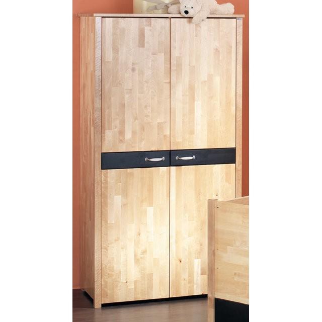 kleiderschrank oliver 2 t rig birke lackiert schrank. Black Bedroom Furniture Sets. Home Design Ideas