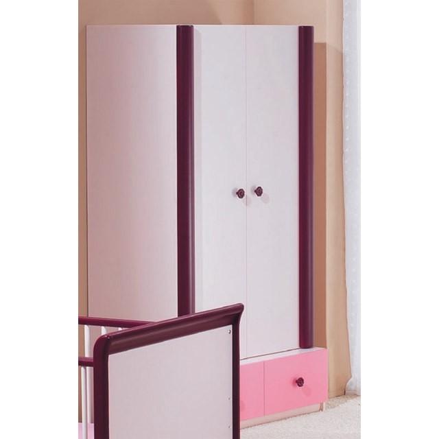 kleiderschrank rosalie ros 2 t rig. Black Bedroom Furniture Sets. Home Design Ideas