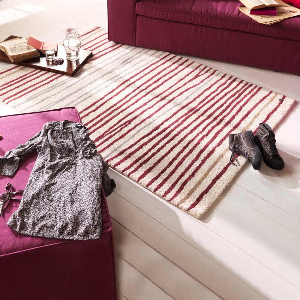 Teppich Easy Stripes – 2 – Purple – 160x230cm, Tom Tailor online bestellen