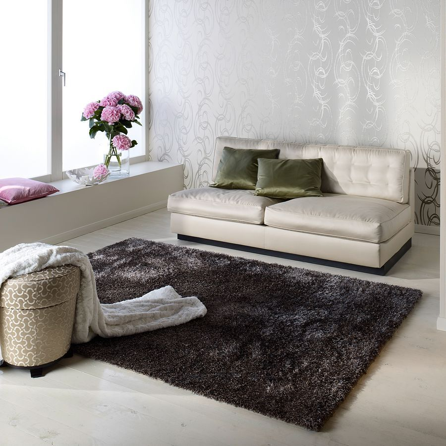 Teppich Emotion – Farbe Taupe – 140x200cm, barbara becker home passion bestellen
