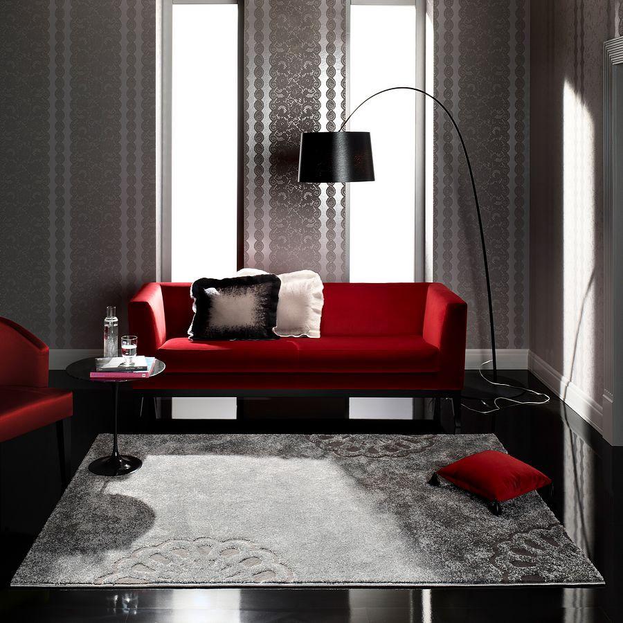 Teppich Feeling in Farbe Anthrazit – 133x190cm, barbara becker home passion bestellen