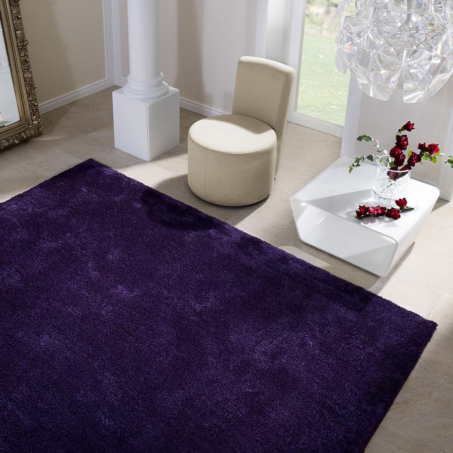 Teppich Passion – Farbe Flieder – 70x140cm, barbara becker home passion günstig online kaufen
