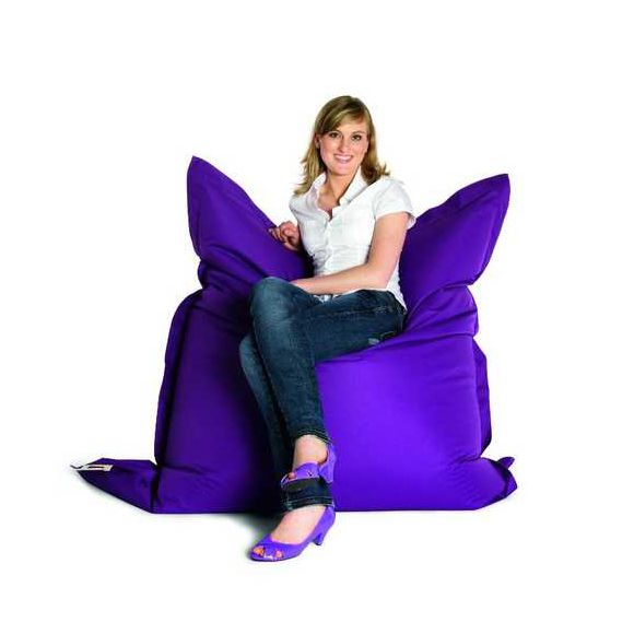 Sitzsack The Bull – Webstoff Violett, Sitting Bull günstig kaufen