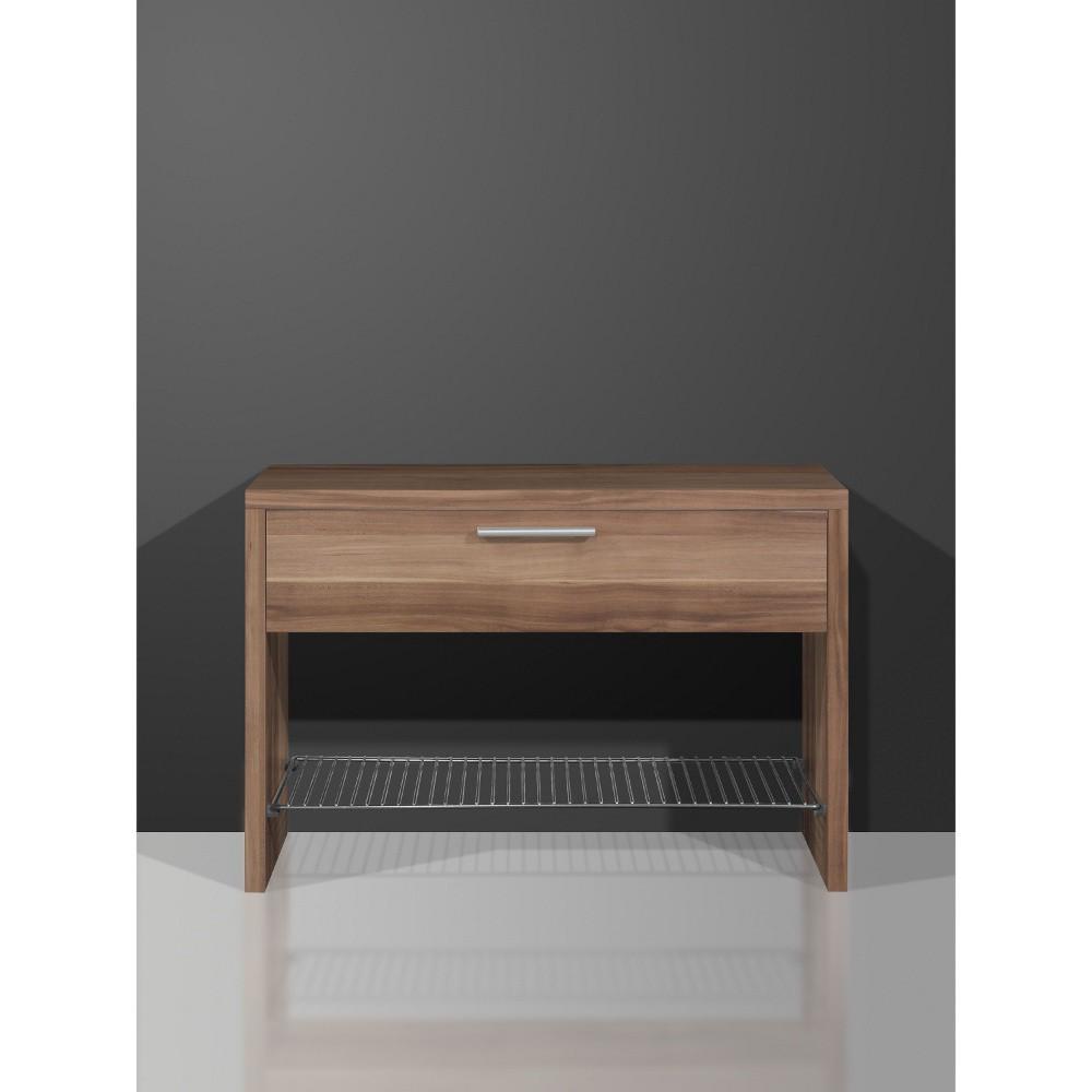 schuhbank supreme walnuss sitzbank garderobe. Black Bedroom Furniture Sets. Home Design Ideas