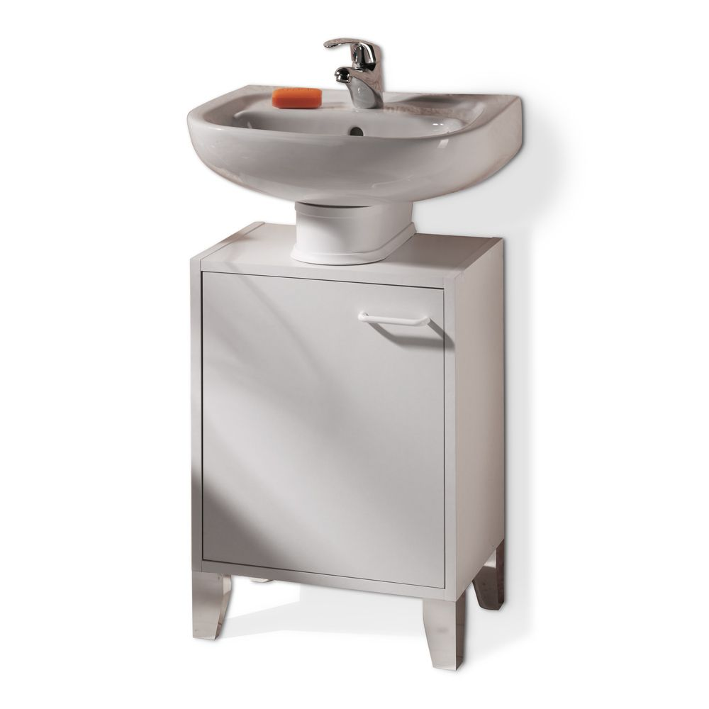 Waschbeckenunterschrank Toronto   Weiß