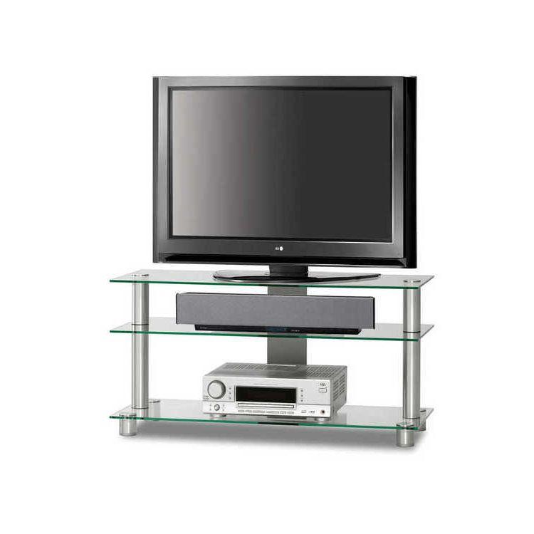 TV-Rack Just-Rack TV1053-AL – Klarglas, Just-Racks günstig