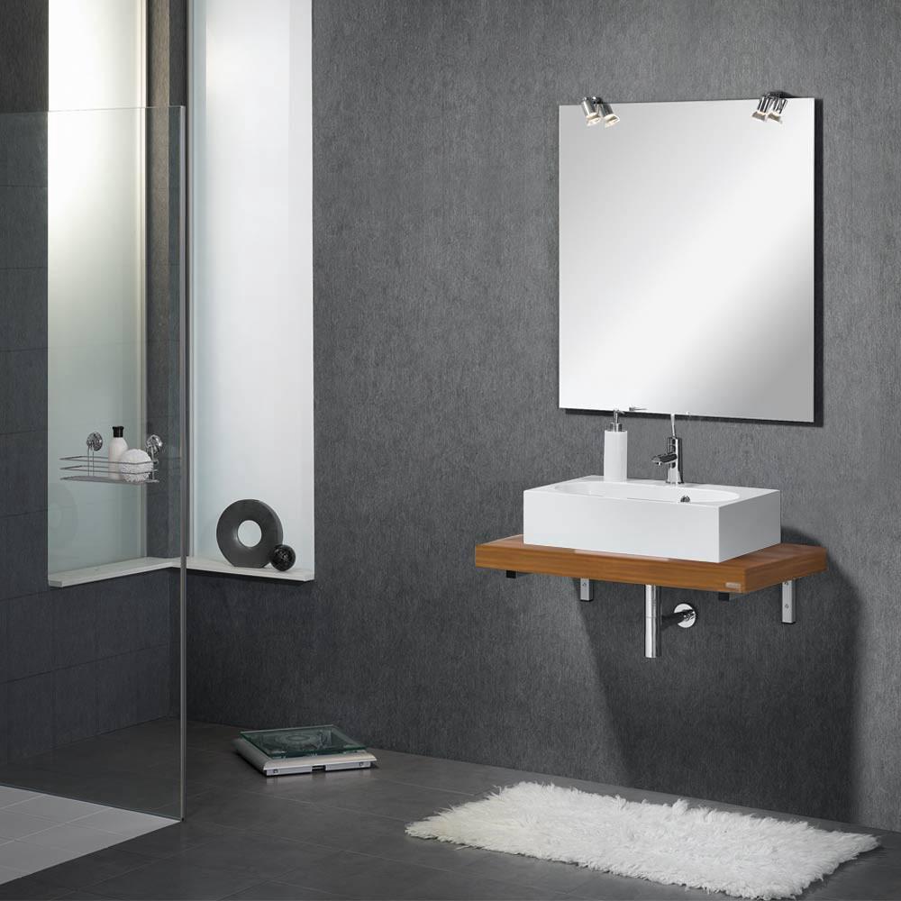 vanity 60 waschplatz zwetschge dekor in versch varianten mit spiegel beleuchtung. Black Bedroom Furniture Sets. Home Design Ideas