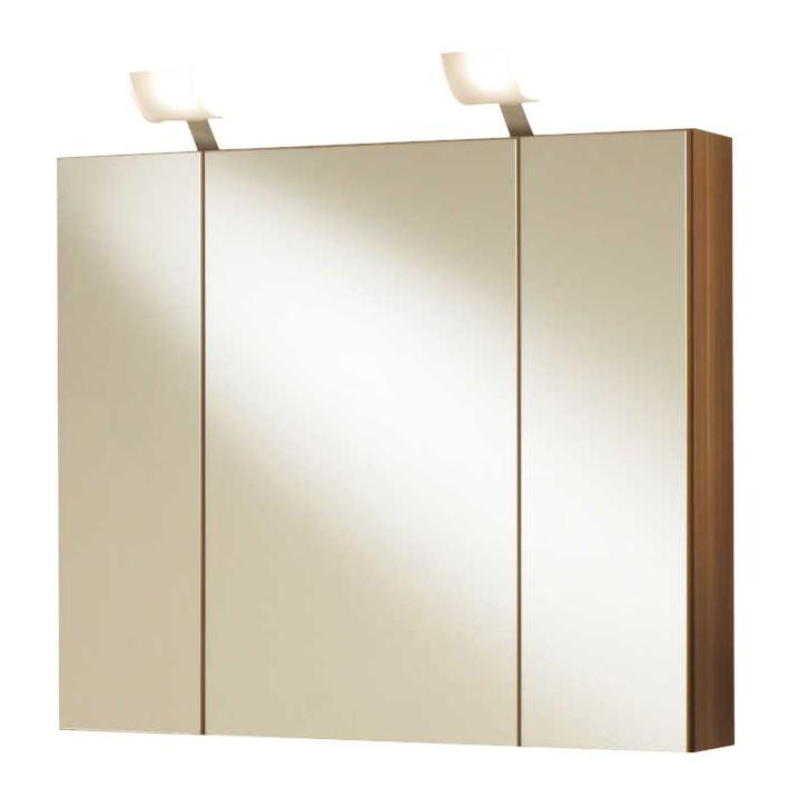 Spiegelschrank San Pablo (mit Beleuchtung) – Zwetschge, Aqua Suite günstig bestellen
