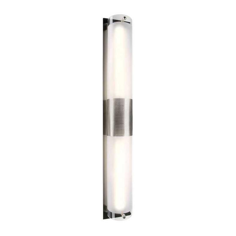EEK A+, Wandleuchte Z 211 – metal brushed – Glas teilsatiniert, SLV günstig