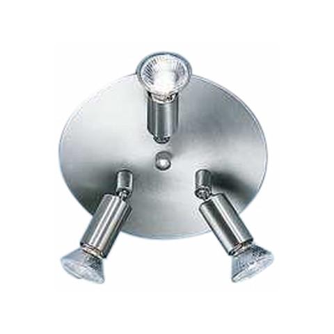 Deckenleuchten Warden – Länglich Deckenleuchten Warden – Rund – Nickel, matt – Durchmesser: 20 cm, Böhmer Leuchten günstig bestellen