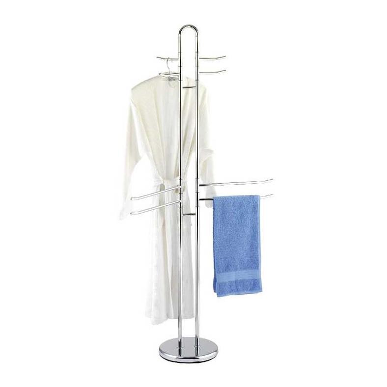 Handtuch & Kleiderständer – Höhe: 168cm – Chrom, WENKO günstig online kaufen