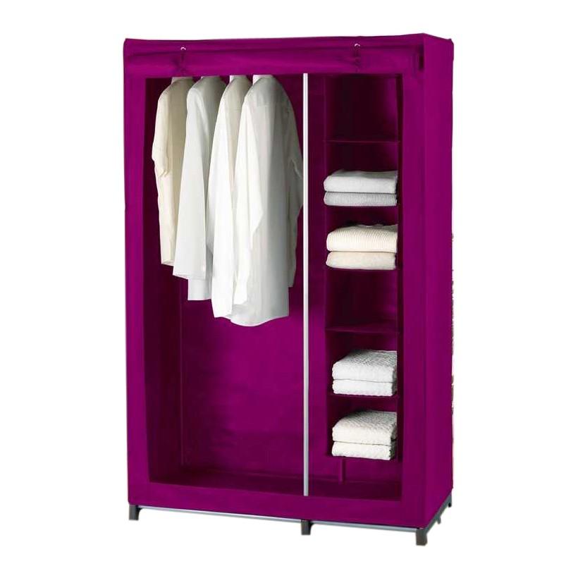 Kleiderschrank mit Wäschesortierer  (Grau)