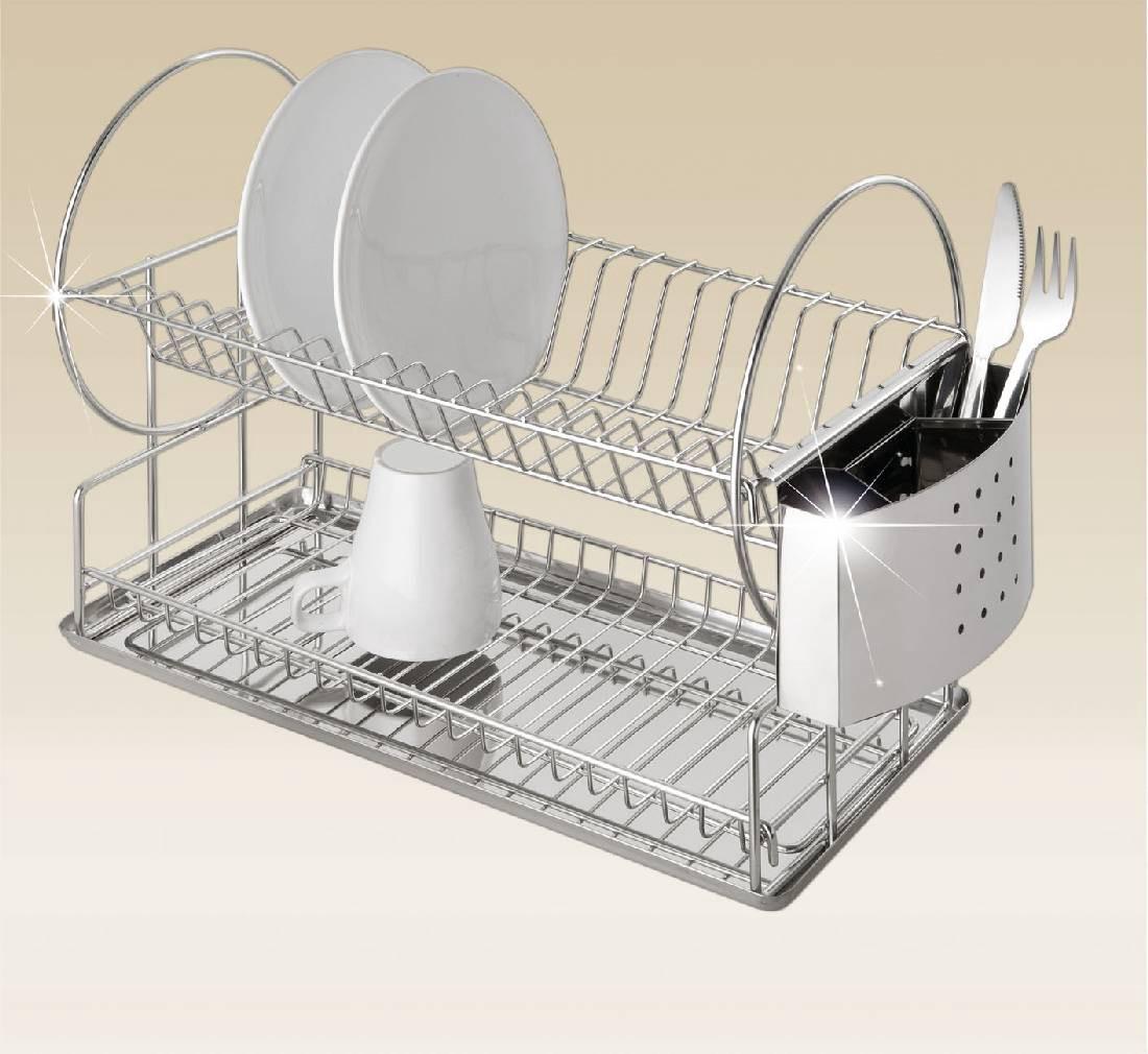 wenko cegouttoir acier inoxydable. Black Bedroom Furniture Sets. Home Design Ideas