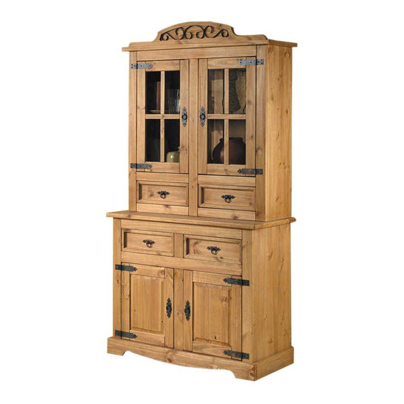 buffetschrank zacateca i kiefer massiv antik schrank. Black Bedroom Furniture Sets. Home Design Ideas