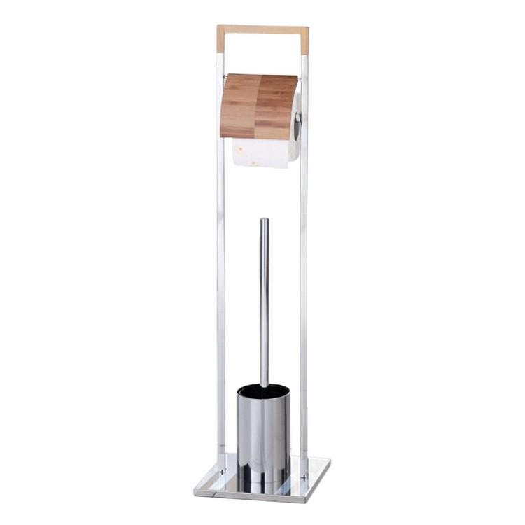 WC-Garnitur Labrada – Bambus/Chrom, Zeller jetzt kaufen