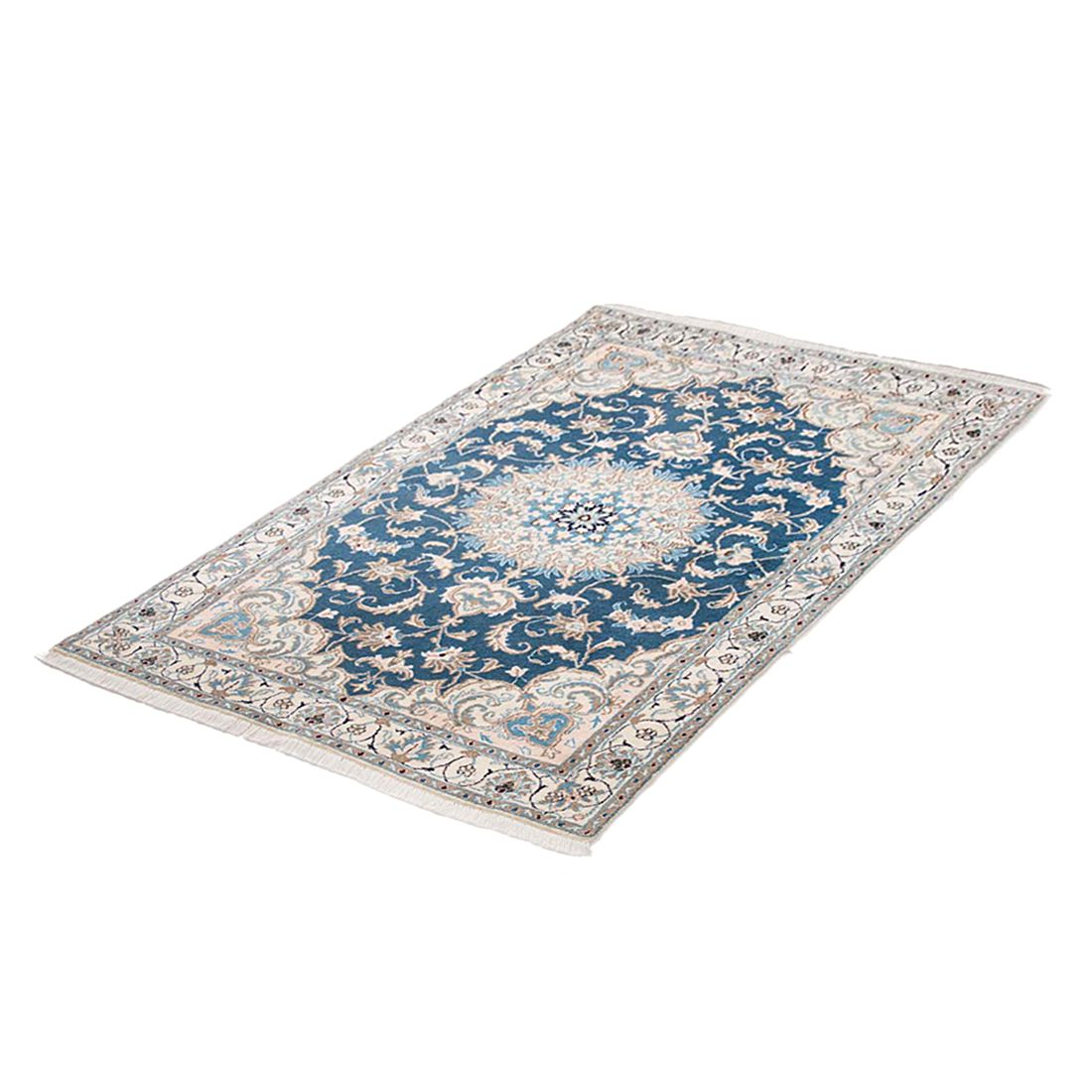 Teppich Khorasan Nain - Blau - 200 x 300 cm, Parwis