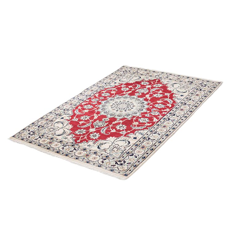 Teppich Khorasan Nain - Rot - 200 x 200 cm, Parwis