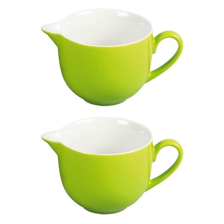2er-Set Milchkännchen Doppio 160 ml – Porzellan Grün, flirt günstig kaufen