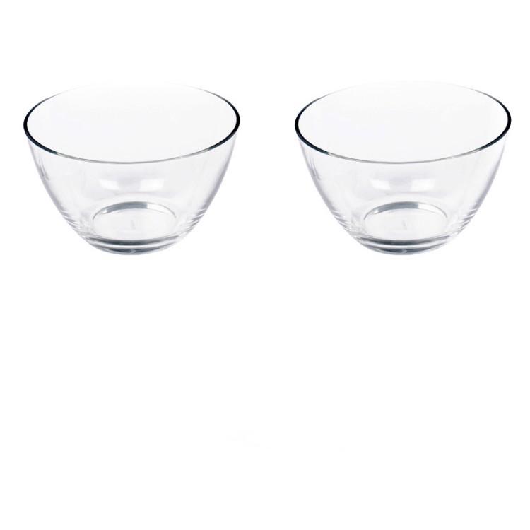 2er-Set Schale Active 21,5 cm – Glas Klar, Leonardo kaufen