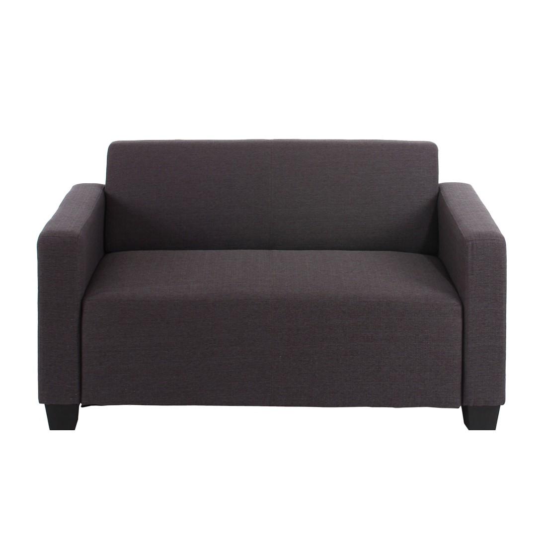 sofa lyon 2 sitzer anthrazit mendler g nstig online kaufen. Black Bedroom Furniture Sets. Home Design Ideas