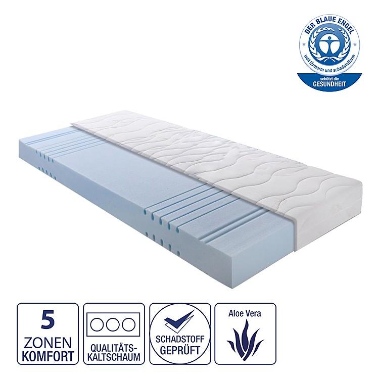 5-Zonen Kaltschaummatratze Dreamwave – 80 x 200cm – H3 ab 90 kg, Nova Dream Sleepline günstig online kaufen