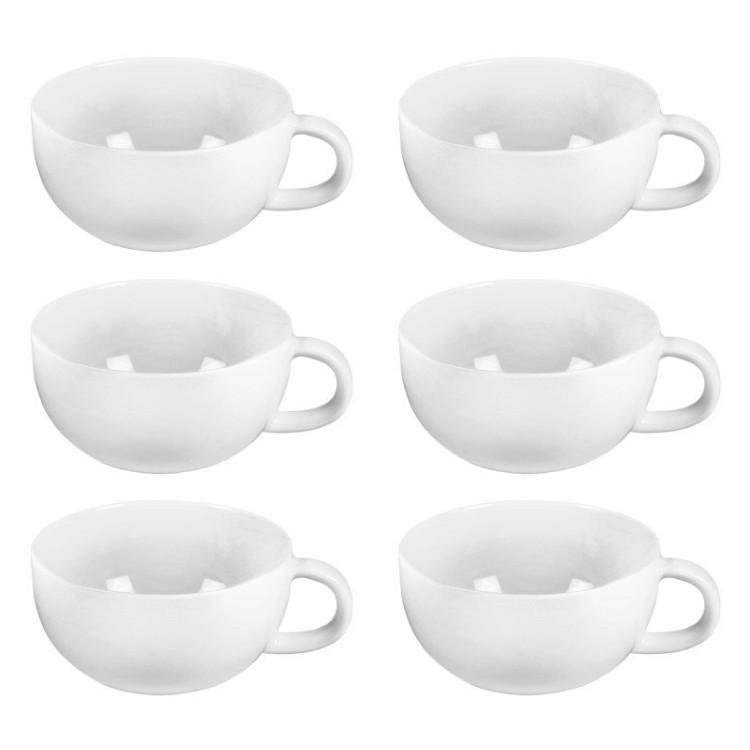 6-er Set Teetasse Cucina – Porzellan Weiß, Springlane günstig online kaufen