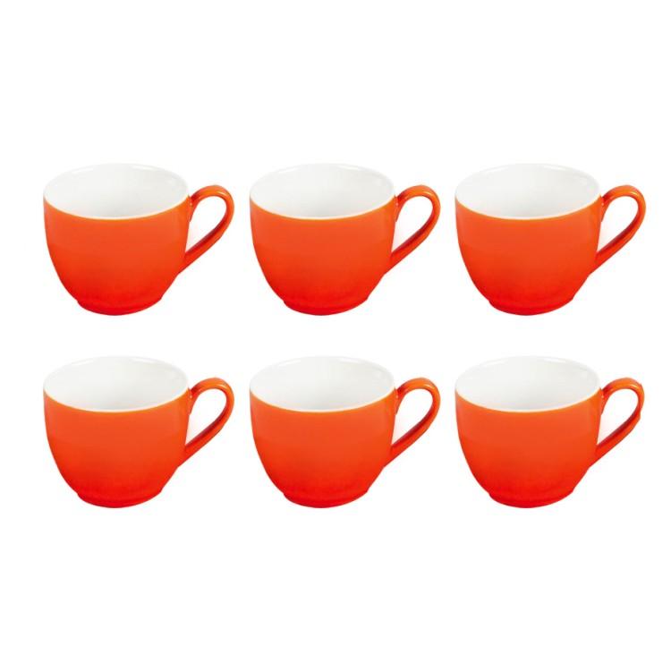 6er-Set Espressotasse Doppio – Porzellan Orange, flirt jetzt bestellen