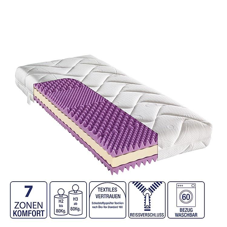 7-Zonen Kaltschaummatratze Majestic – 100 x 200cm – H2 bis 80 kg, Nova Dream Sleepline jetzt kaufen