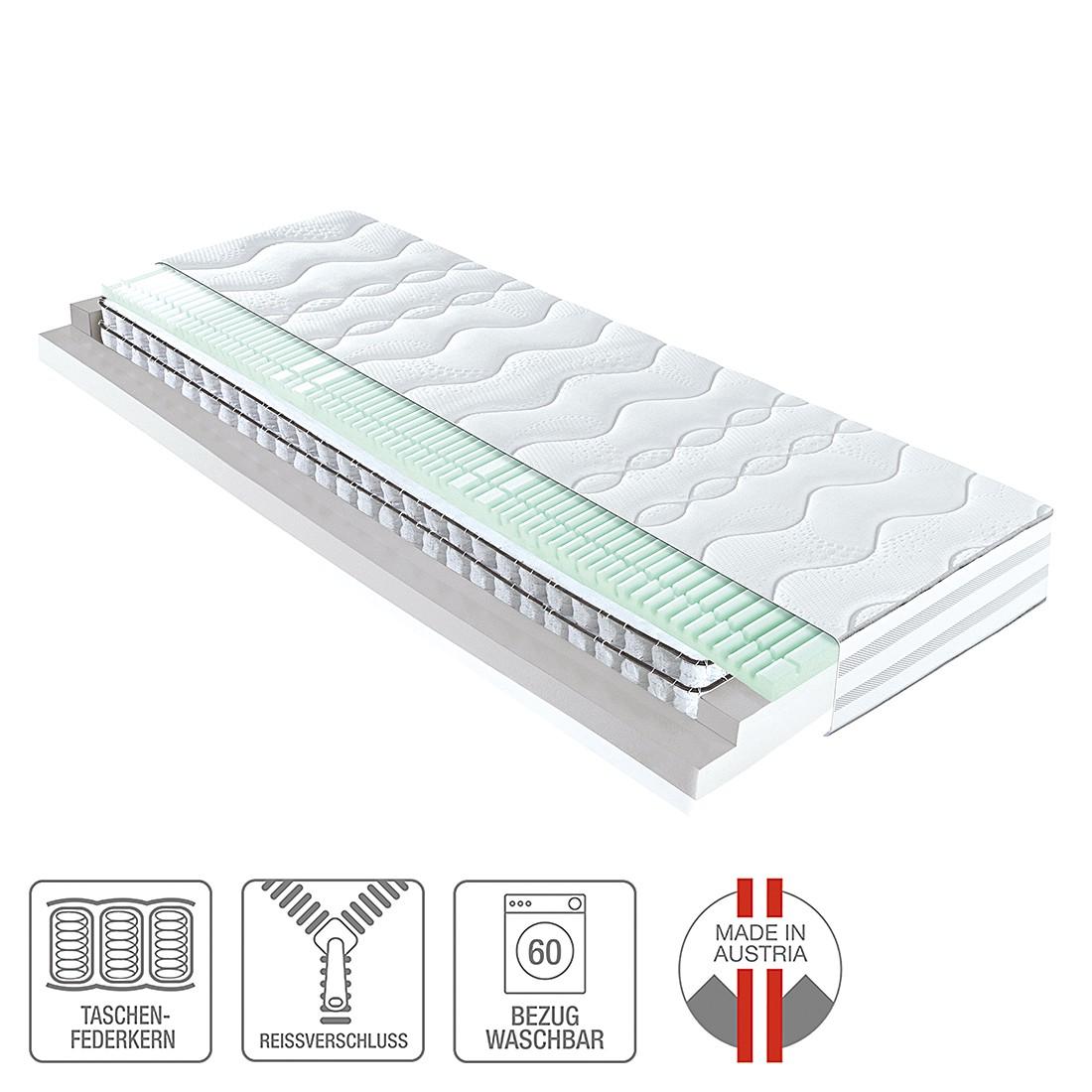7-Zonen Doppel-Taschenfederkernmatratze Concept – 120 x 200cm – H3 ab 80 kg, ADA premium günstig online kaufen