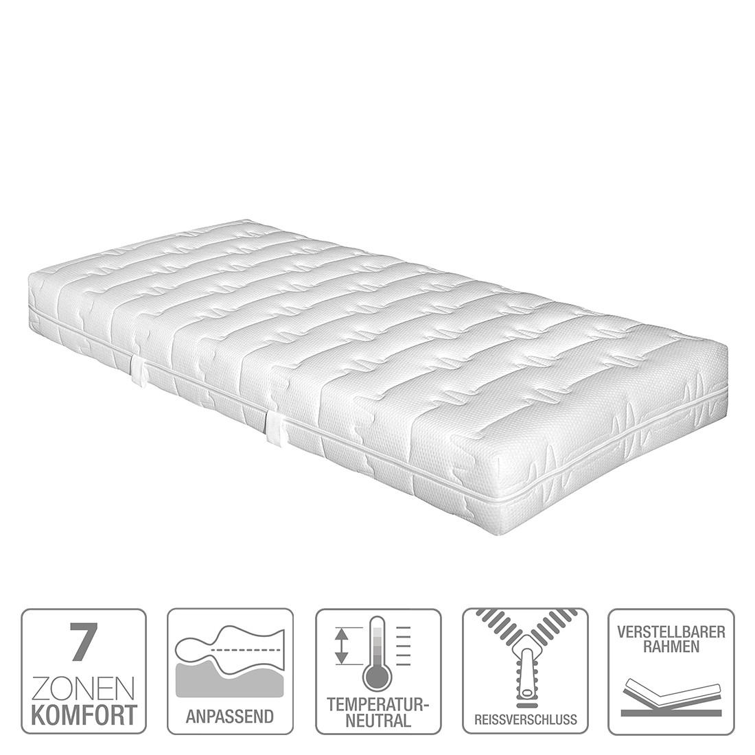 7 zonen hyperflex kaltschaummatratze clean pro 100 x 200cm h3 ab 80 kg hukla online bestellen. Black Bedroom Furniture Sets. Home Design Ideas