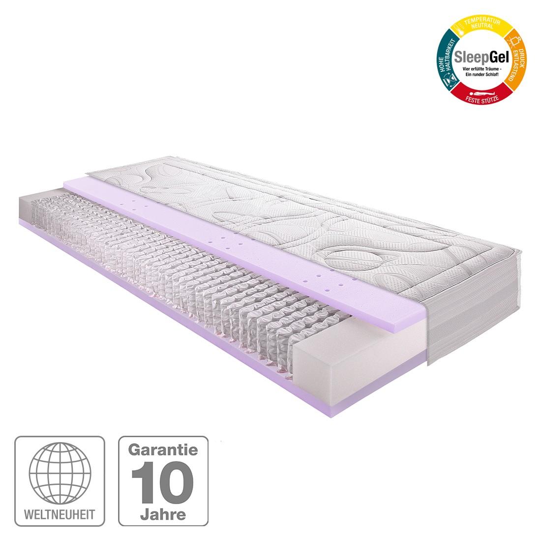 7-Zonen Micro-Taschenfederkern Gel-Matratze Sleep Gel 4 – 120 x 200cm – H3 ab 80 kg, Breckle günstig bestellen