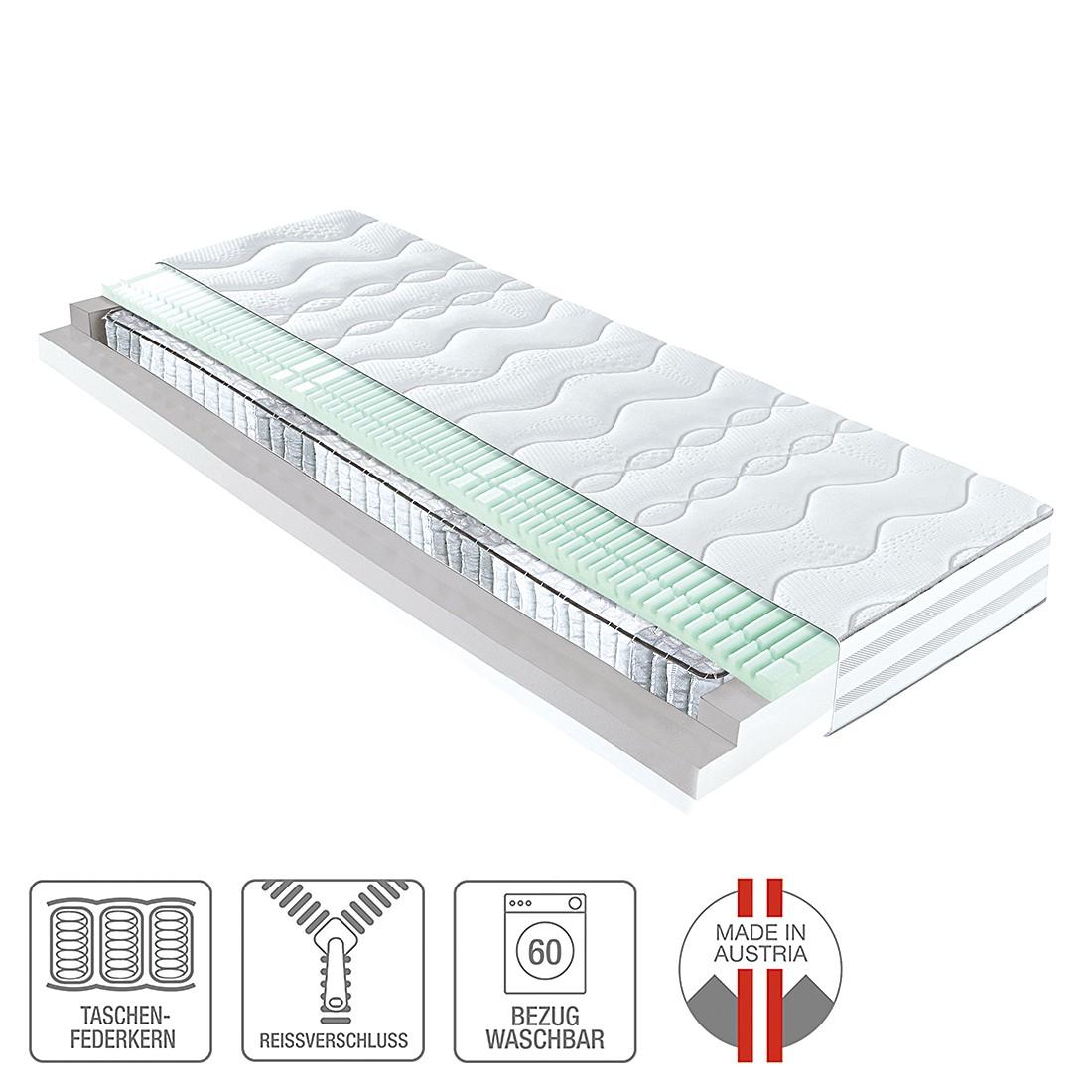 7-Zonen Taschenfederkernmatratze Concept 1000 – 100 x 200cm – H2 bis 80 kg, ADA premium online kaufen