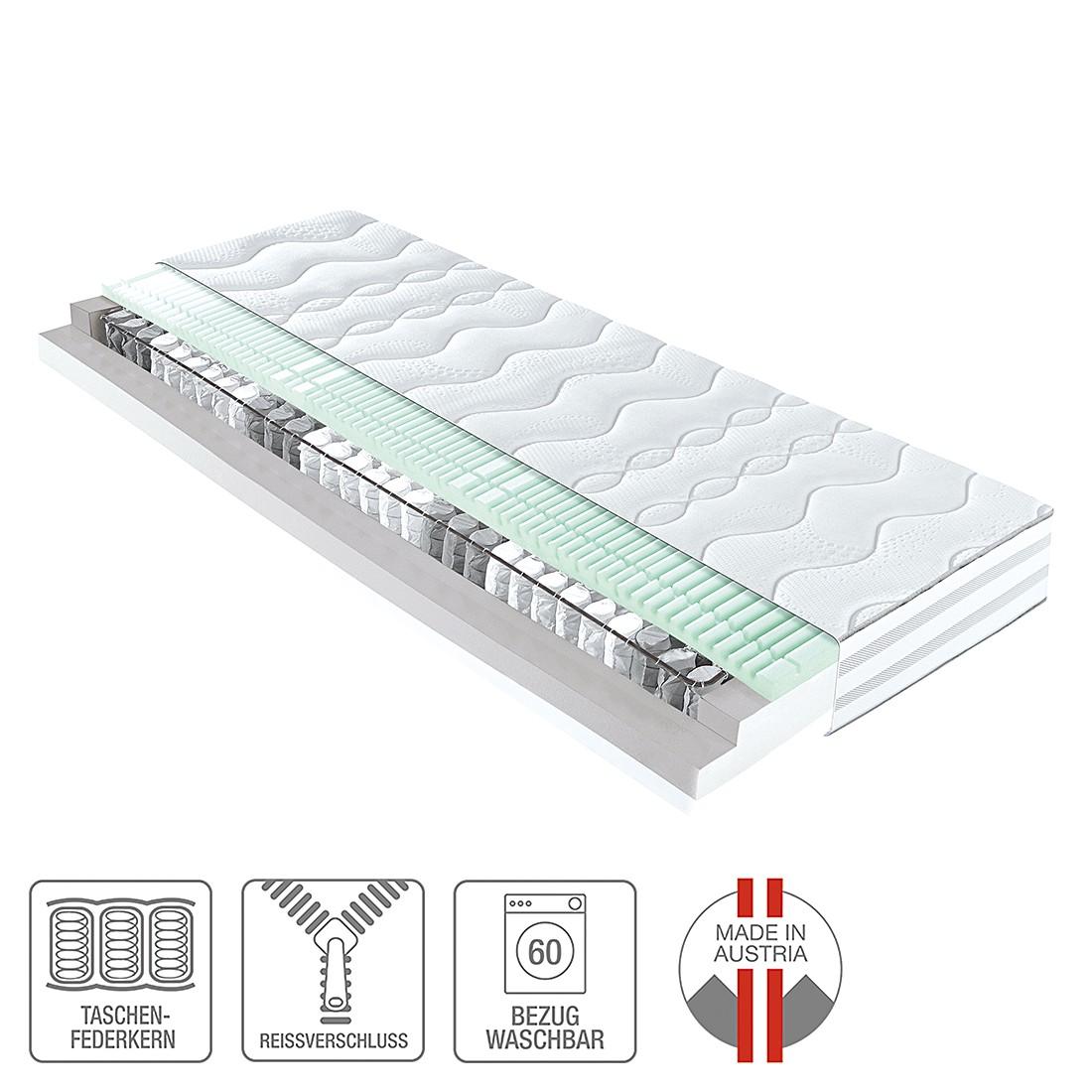 7 zonen taschenfederkernmatratze concept 500 160 x 200cm h3 ab 80 kg ada premium g nstig. Black Bedroom Furniture Sets. Home Design Ideas