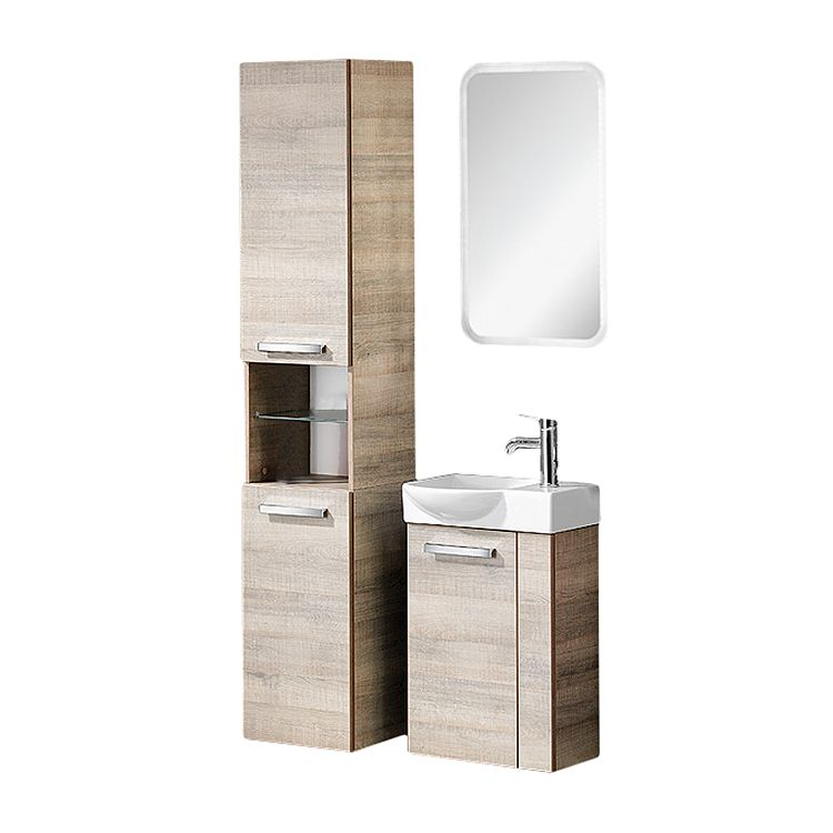 a vero g ste wc set eiche sonoma eiche sonoma. Black Bedroom Furniture Sets. Home Design Ideas