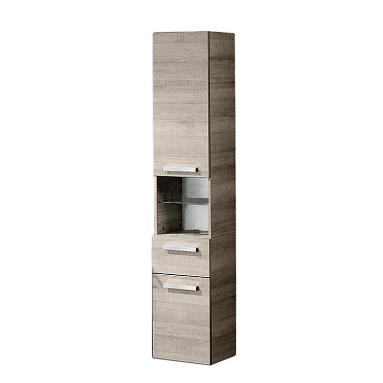 a vero hochschrank eiche sonoma eiche sonoma schrank. Black Bedroom Furniture Sets. Home Design Ideas