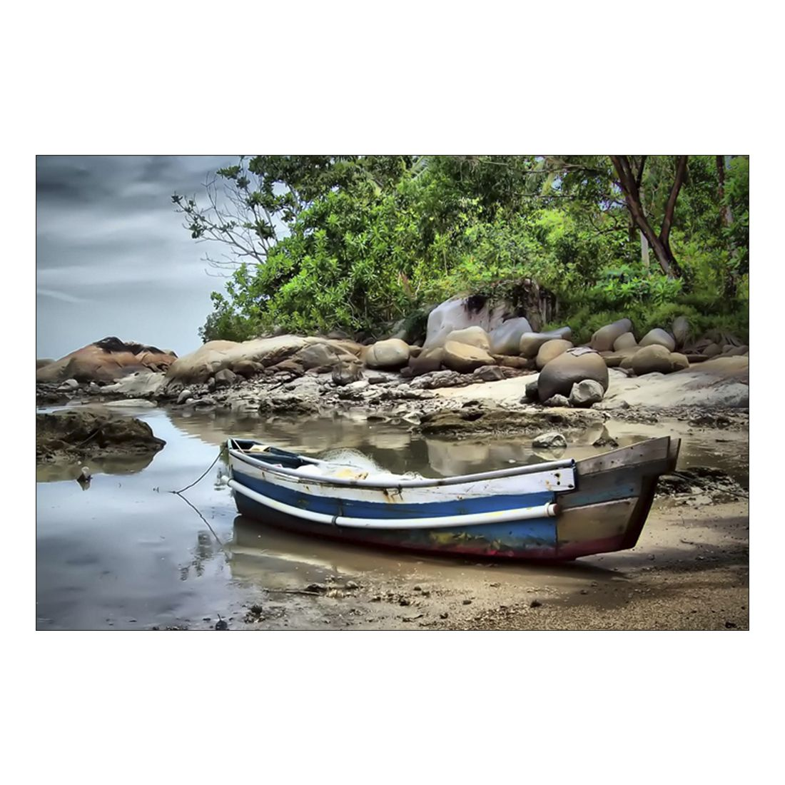Acrylglasbild Boat – Abmessung 30×20 cm, Gallery of Innovative Art günstig online kaufen