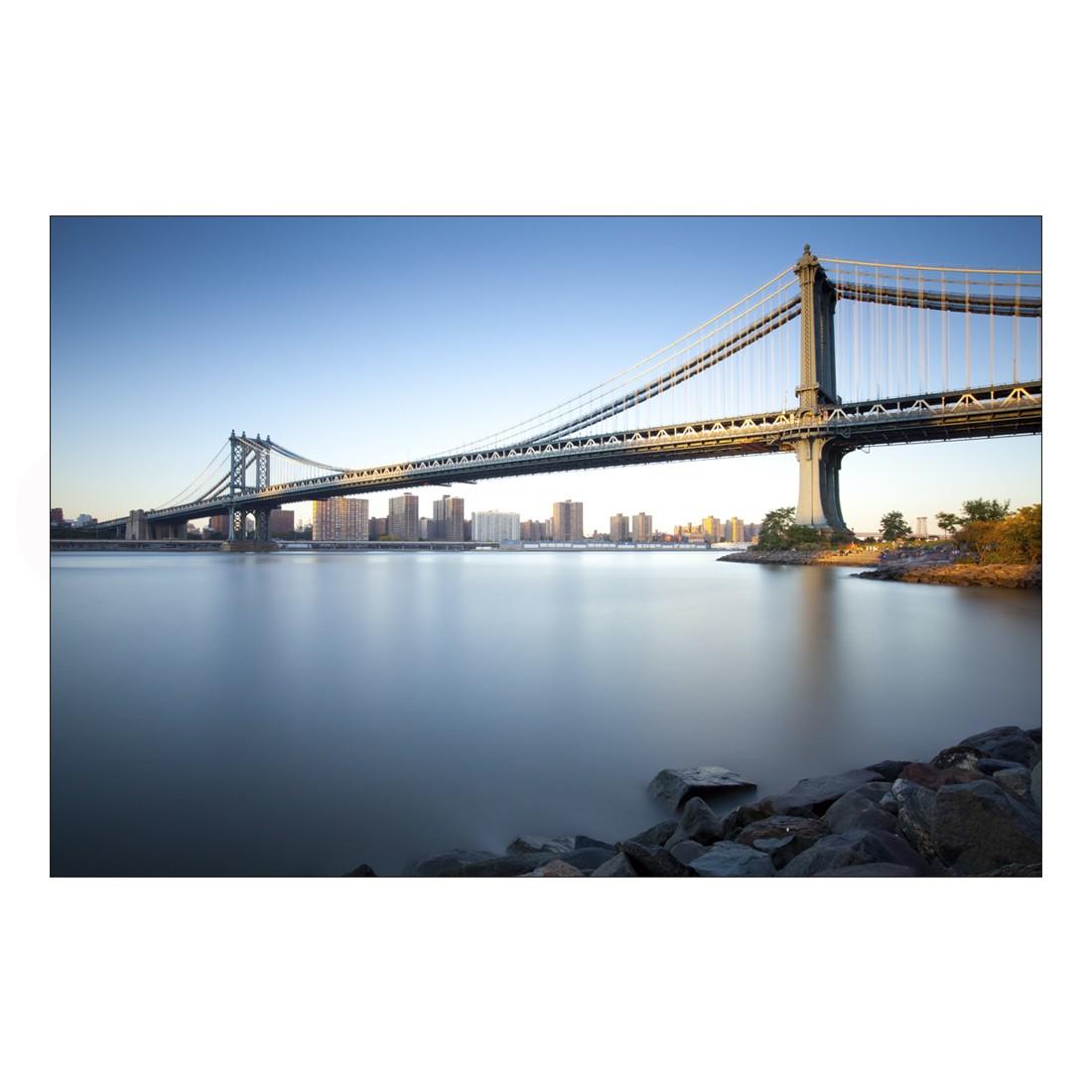 Acrylglasbild Bridge in Sunlight – Abmessung 30×20 cm, Gallery of Innovative Art online kaufen