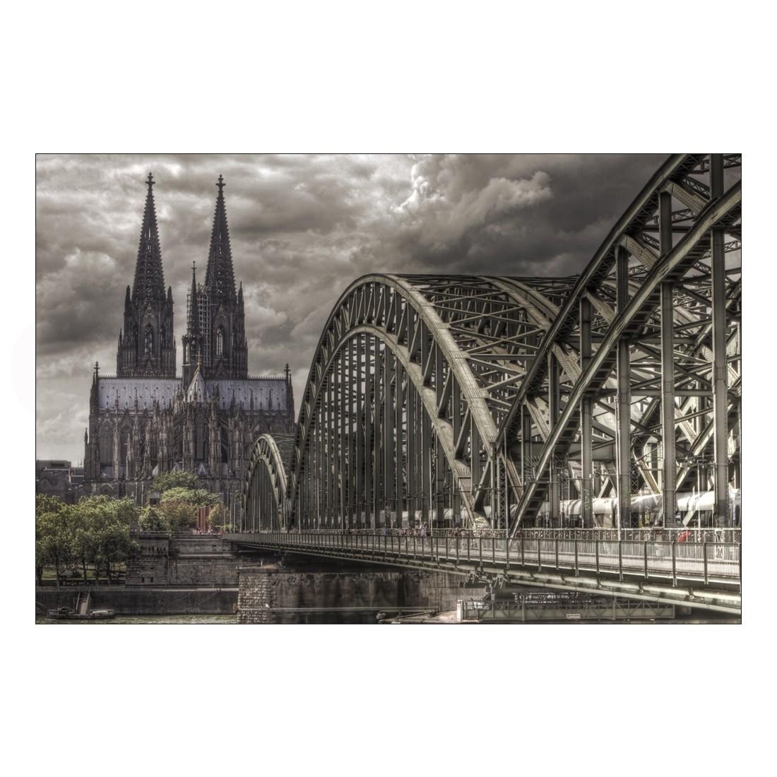 Acrylglasbild Hohenzollernbrücke Köln – Abmessung 90×60 cm, Gallery of Innovative Art bestellen