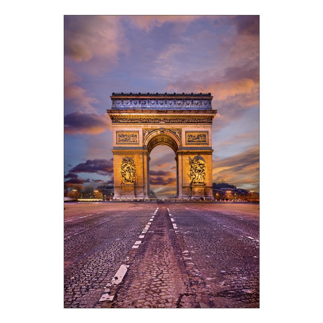 Acrylglasbild L'Arc de Triomphe Paris at Night – Abmessung 30×20 cm, Gallery of Innovative Art bestellen