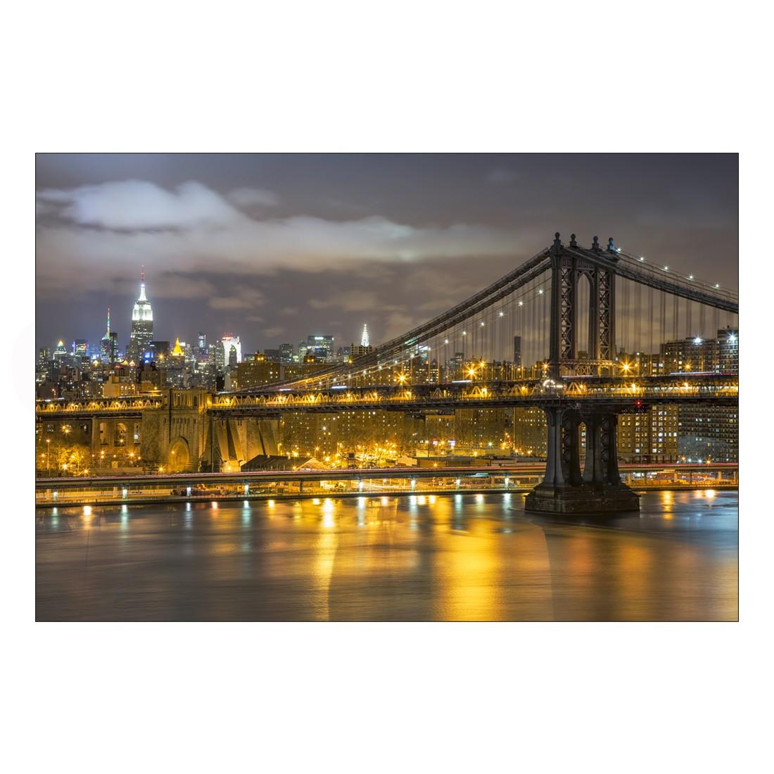 Acrylglasbild Lighting Bridge – Abmessung 75×50 cm, Gallery of Innovative Art jetzt kaufen