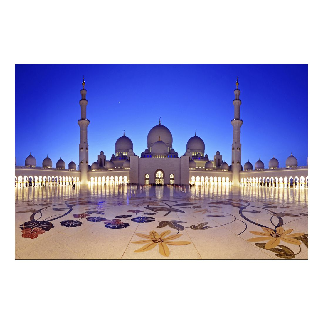Acrylglasbild Mosque Istanbul – Abmessung 30×20 cm, Gallery of Innovative Art günstig bestellen